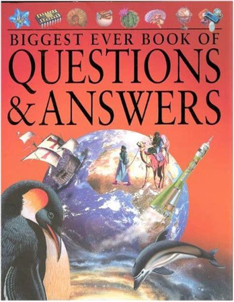 biggest  book  questions answers  john fardon