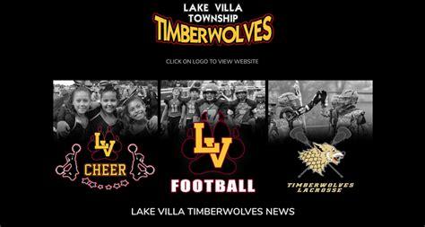 custom sports team web design lake villa football