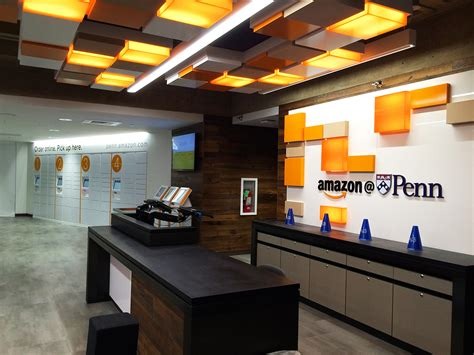 amazon delivery center opens  penns campus penn today