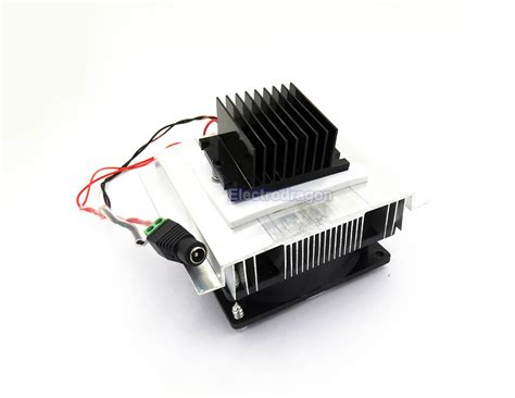 thermoelectric peltier tec1 12706 cooler 12 volt thermoelectric peltier cooler model electrodragon