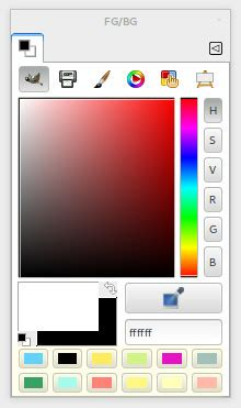 gimp color picker usability and colors gimp gui redesign