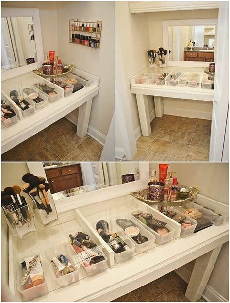 Diy Vanity Table Plans by 10 Cool Diy Makeup Vanity Table Ideas