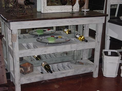 Distressed Wine Bar Buffet Table Just Fine Tables