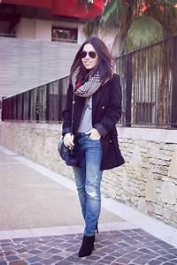 48 best mes looks hiver 15 16 images on pinterest winter With echarpe plaid carreaux