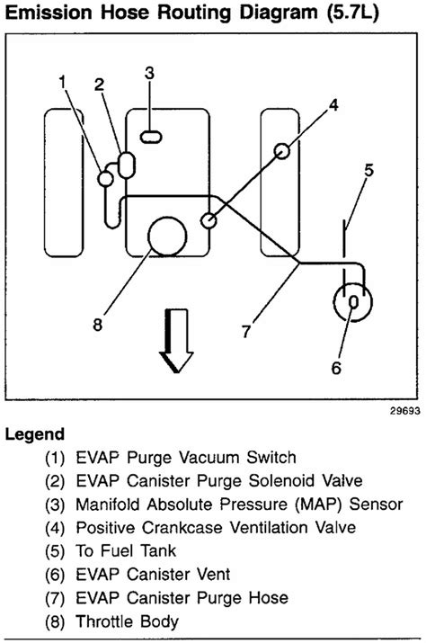 Need More Detailed Vaccum Line Diagram Have Many