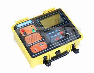 Zxet3007 Double Clamp Grounding Resistance Tester