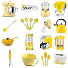 bright yellow kitchen accessories get this look built in drop zone yellow kitchens 4918