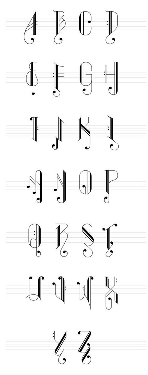 words written  musical notes google search fonts