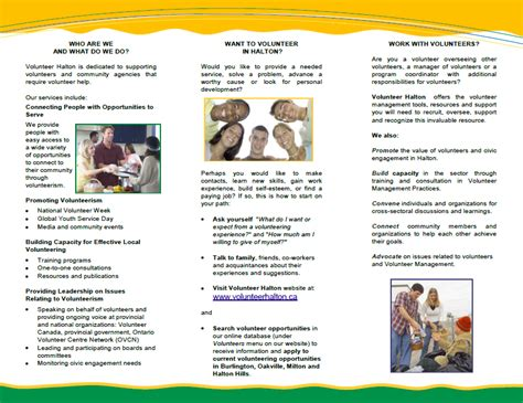 Volunteer Brochure Template Volunteers Needed Flyer Template