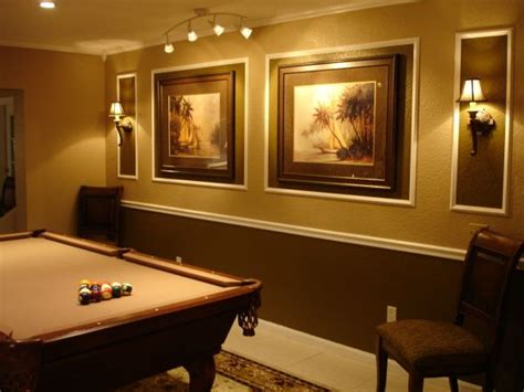 pool table room idea the picture wall room