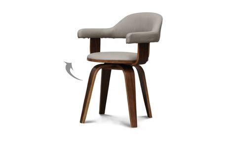 chaise de cuisine en cuir blanc chaise de cuisine pivotante chaise de cuisine