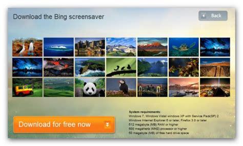protector de pantalla  los hermosos fondos de bing