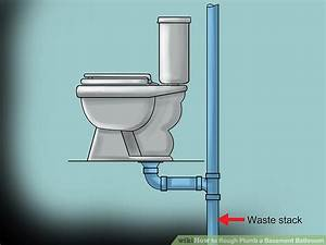 How To Rough Plumb A Basement Bathroom  With Pictures