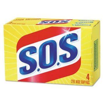 SOS SOAP PADS 4PK - Gold Star Distribution Inc