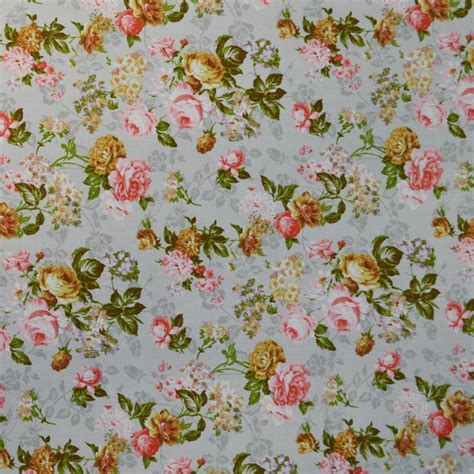 print fabrics grey floral print fabric cp0323 rose and hubble cotton prints fabric world