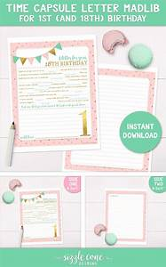 the luminaries club a collection of products ideas to try With baby time capsule letter