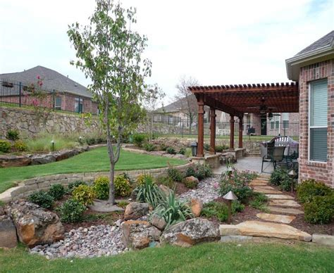 creative backyards of west in lubbock tx for the