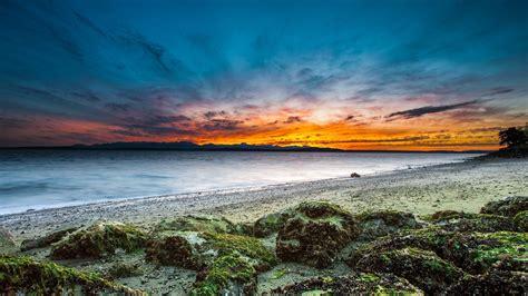 beach sky water background p resolution hd