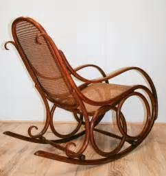 Antique Bentwood Rocking Chair