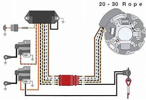 1977 Evinrude V4 Wiring Schematics