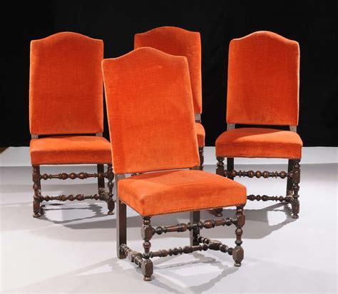 sedia luigi xiv quattro sedie a rocchetto xviii secolo