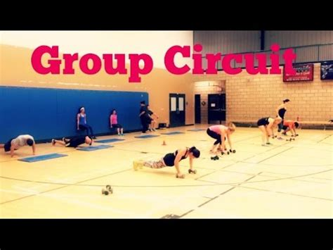 Advanced Full Body Circuit Group Training Ideas Youtube