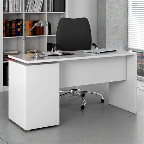mesa  estanteria reversible en blanco alpes