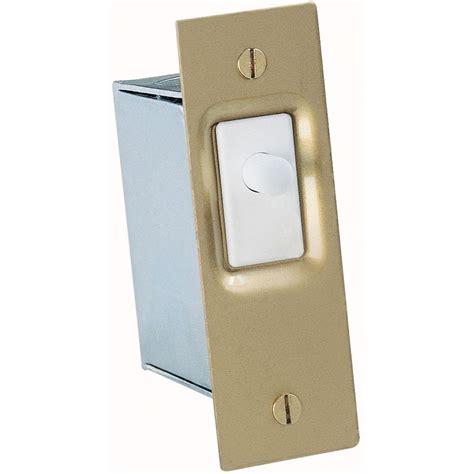 cabinet door light switch gardner bender 10 amp single pole ac dc push button door