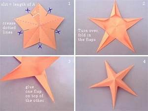 How to fold DIY paper craft starfish step by step tutorial