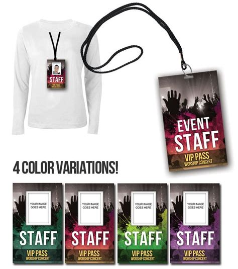Staff Badge Template by Badge Psd Template Vip Pass Vip Pass Products And Badges