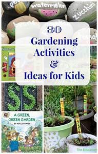 30 Gardening Ideas For Kids