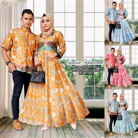 jual baju batik couple kebaya gamis sarimbit baju pesta