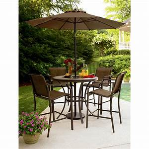 Garden Oasis Cooper Lighted High Dining Table ~ Dining ...