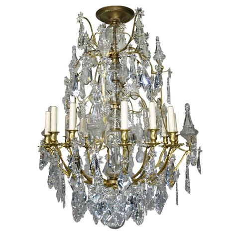 antique baccarat chandelier antique chandelier by baccarat for sale at 1stdibs