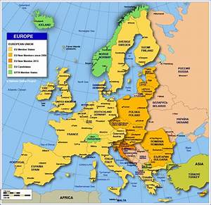 Political Europe Map