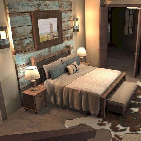 Rustic Master Bedroom by 47 Amazing Rustic Farmhouse Master Bedroom Ideas