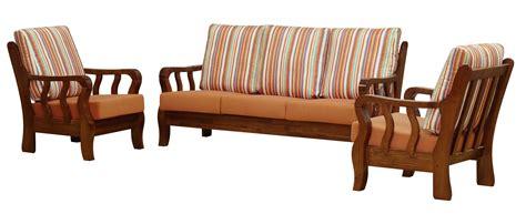 Woodan Sofa by Wooden Sofa Set Home Decoration Ideas