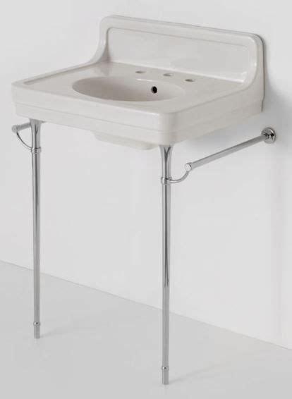 Bathroom Sink Metal Legs by Retro Bathroom Sinks On Chrome Legs Alden From