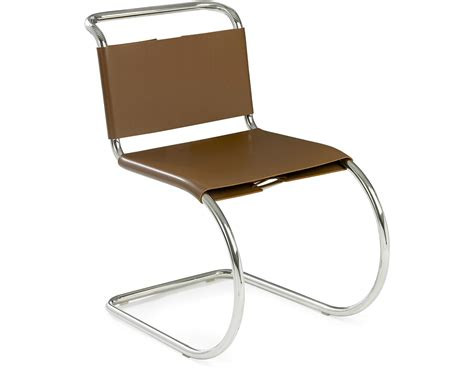 chaise mies der rohe mr side chair hivemodern com
