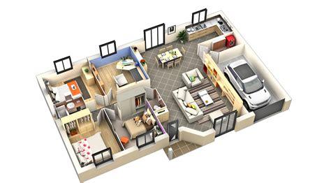 model maison interieur chaios