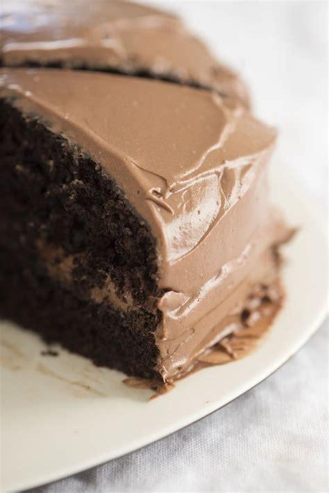 1 ½ tsp pure vanilla extract. Chocolate Cake by Ina Garten serves 8 what you'll need: cake: • butter for greasing the ...