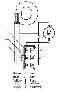 12v Worm Drive Motor 5