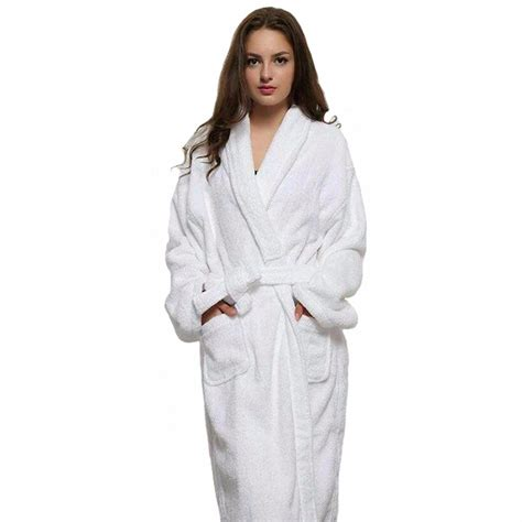 robes de chambre casual and white robes white cotton twist