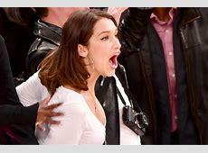 Photos of Bella Hadid at New York Knicks Game The Daily Dish