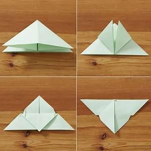 Origami Schmetterling Anleitung : schmetterling falten einfache anleitung ~ Frokenaadalensverden.com Haus und Dekorationen
