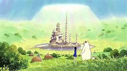 Cat Returns Castle Kingdom Wind Return Anime