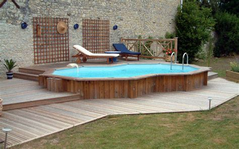 above ground pool deck gallery backyard pool designs ideas studio design gallery