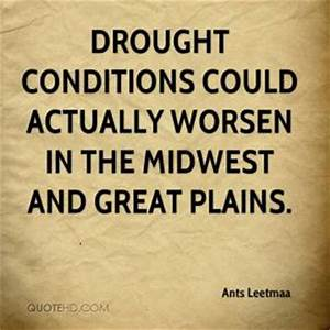 Drought Quotes ... Good Midwest Quotes