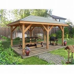 kiosque bois sirena 1334 m2 leroy merlin With amazing tonnelle en bois pour jardin 0 kiosques bois