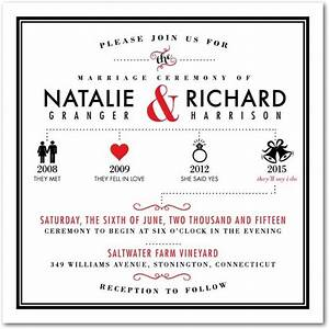 this modern and chic wedding invitation template blends With wedding invitation relationship timeline